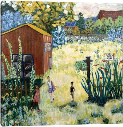 Home in Portland Canvas Art Print