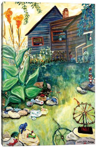 Covid Play Canvas Art Print