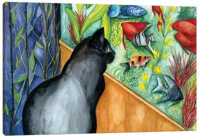 Guardian of the Aquarium Canvas Art Print