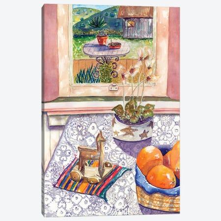 Orange Still Canvas Print #DBH32} by Deborah Eve Alastra Canvas Print