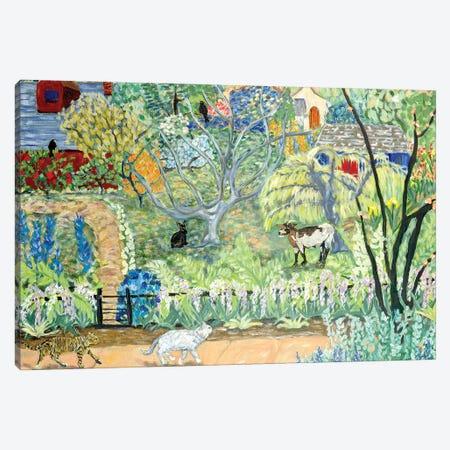 Dream House Canvas Print #DBH34} by Deborah Eve Alastra Canvas Wall Art