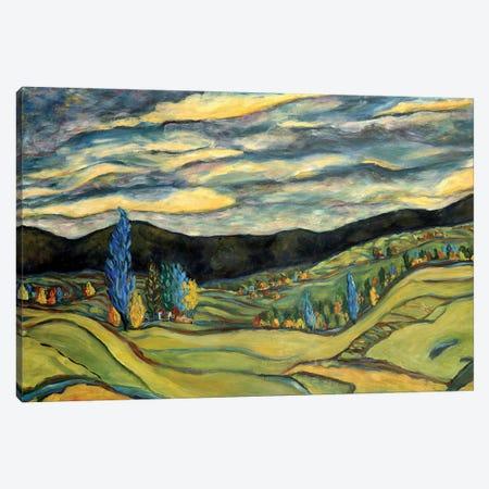 Fall Landscape Canvas Print #DBH37} by Deborah Eve Alastra Canvas Wall Art