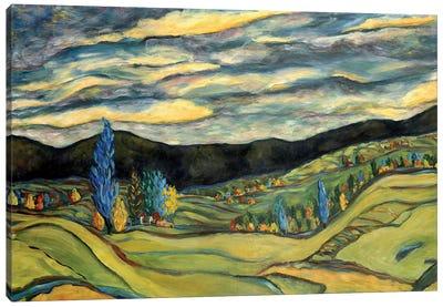 Fall Landscape Canvas Art Print