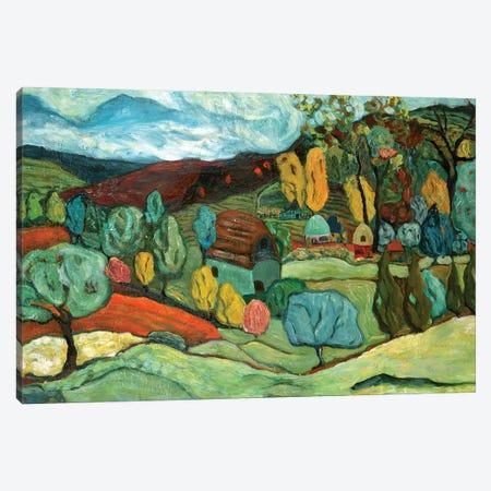Village Fall Canvas Print #DBH38} by Deborah Eve Alastra Canvas Print