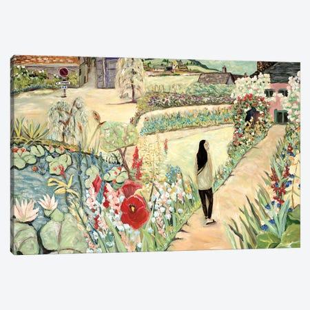 Stroll Through the Garden Canvas Print #DBH41} by Deborah Eve Alastra Canvas Wall Art
