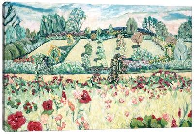 Giverny Landscape Canvas Art Print