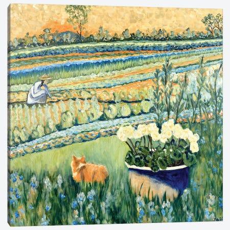 Sheltering in the Garden Canvas Print #DBH46} by Deborah Eve Alastra Canvas Print