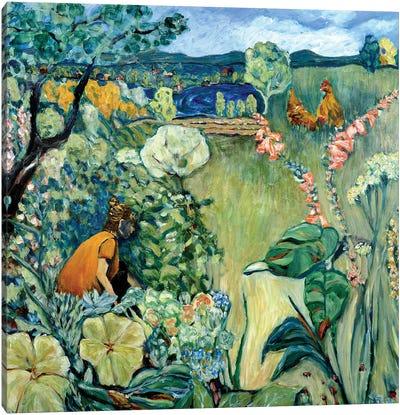 Maisha's Garden Canvas Art Print
