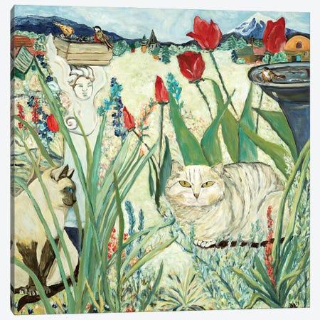 Mind's Garden Canvas Print #DBH48} by Deborah Eve Alastra Canvas Art