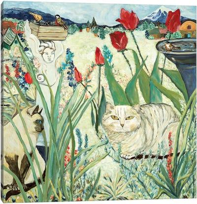 Mind's Garden Canvas Art Print