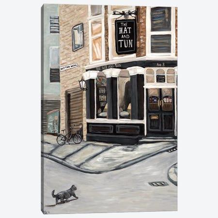 Hat and Tun Canvas Print #DBH4} by Deborah Eve Alastra Art Print