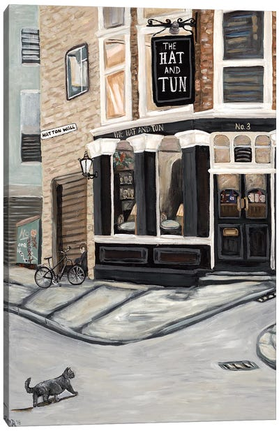Hat and Tun Canvas Art Print