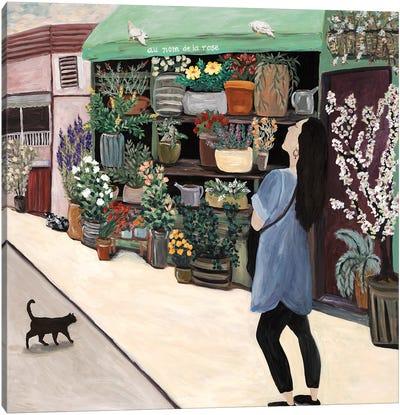 Flower Shopper St. Germain Canvas Art Print