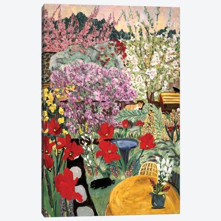 Ocher Table Canvas Print #DBH5} by Deborah Eve Alastra Art Print