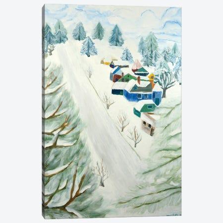 Tabor's Snow Canvas Print #DBH63} by Deborah Eve Alastra Canvas Artwork