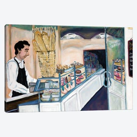 Bakery Worker St. Germain Canvas Print #DBH69} by Deborah Eve Alastra Canvas Art