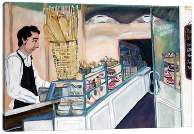 Bakery Worker St. Germain Canvas Art Print