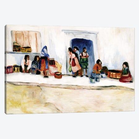 San Miguel Women Canvas Print #DBH6} by Deborah Eve Alastra Canvas Art Print