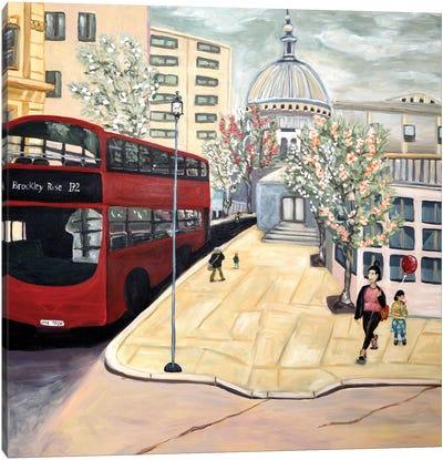 London Town Canvas Art Print