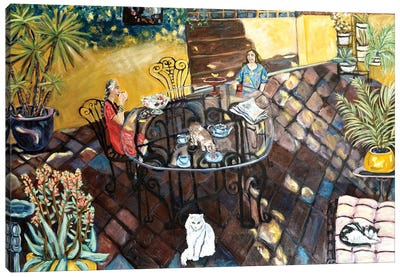 Chateau Wonderland Canvas Art Print