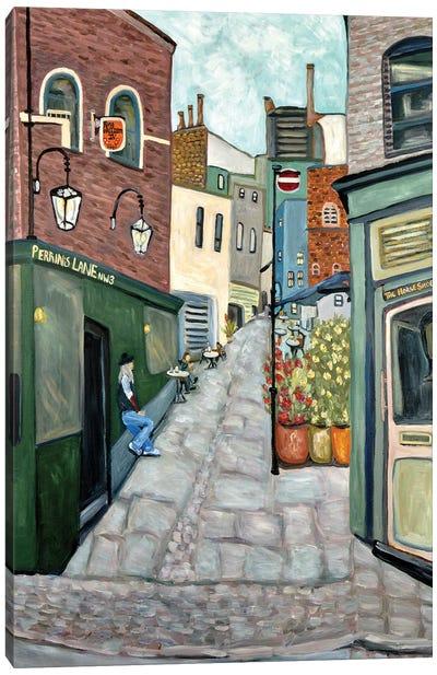Hampstead Village Canvas Art Print