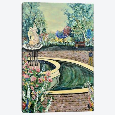 Queen's Garden Canvas Print #DBH83} by Deborah Eve Alastra Canvas Artwork