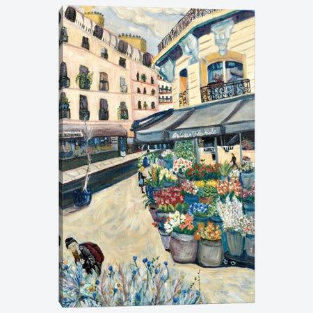 Wildflowers Canvas Print #DBH84} by Deborah Eve Alastra Art Print