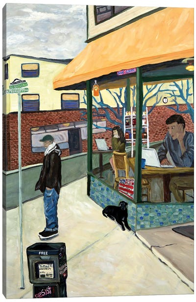 North Portland Canvas Art Print