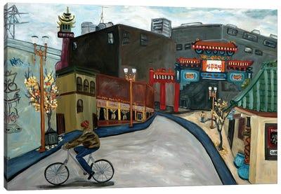 Chinatown Portland Canvas Art Print