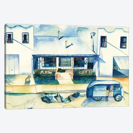 Tortilla Man Canvas Print #DBH89} by Deborah Eve Alastra Canvas Art
