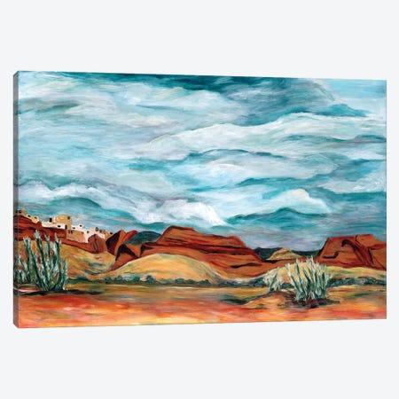 New Mexico Landscape Canvas Print #DBH92} by Deborah Eve Alastra Art Print