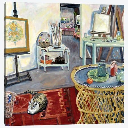 Studio de Sabou Canvas Print #DBH95} by Deborah Eve Alastra Canvas Wall Art