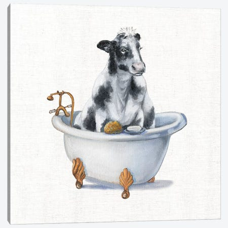 Bathing Beauty I Canvas Print #DBK10} by Donna Brooks Canvas Wall Art