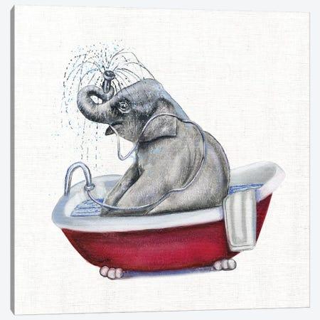 Bathing Beauty II Canvas Print #DBK11} by Donna Brooks Canvas Artwork