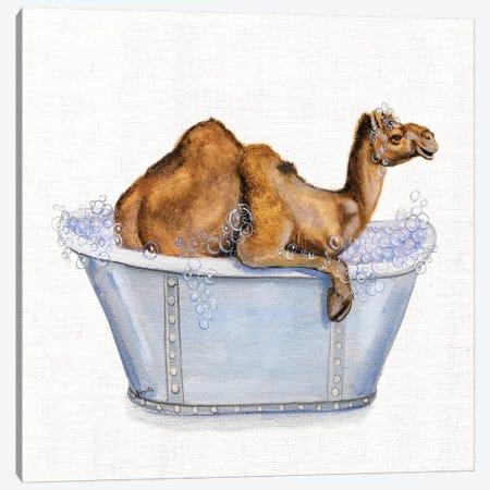 Bathing Beauty III Canvas Print #DBK12} by Donna Brooks Canvas Artwork