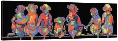 Fun Monkeys Canvas Art Print