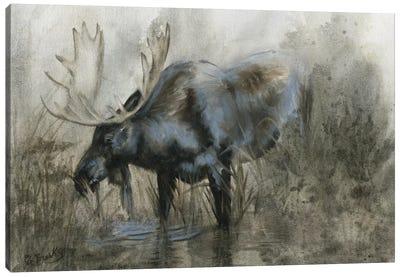 Majestic Elk Canvas Art Print