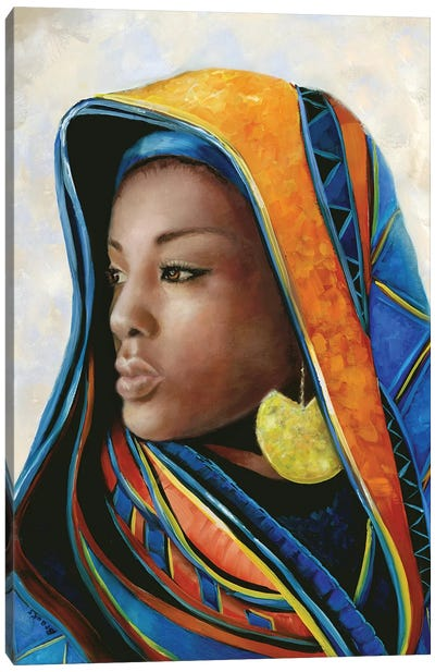 Soulful Beauty II Canvas Art Print
