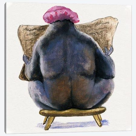 Bath Animals III Canvas Print #DBK8} by Donna Brooks Canvas Art Print