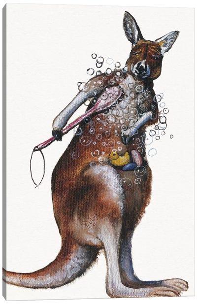 Bath Animals Iv Canvas Art Print