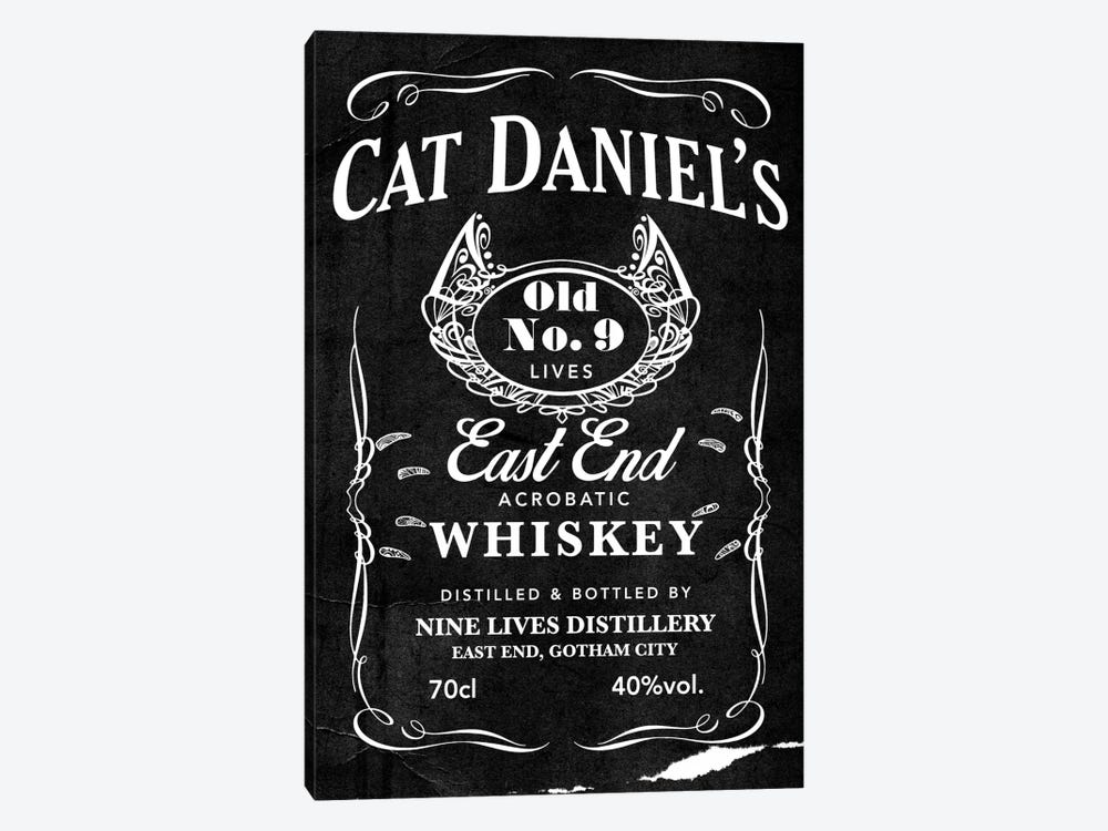 Cat Daniel's by 5by5collective 1-piece Canvas Print