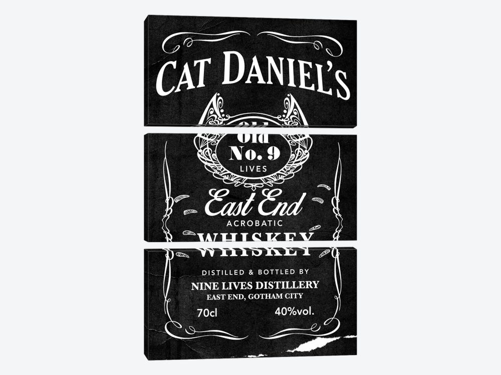 Cat Daniel's by 5by5collective 3-piece Art Print
