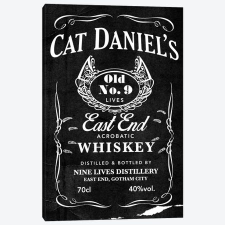Cat Daniel's Canvas Print #DBL1} by 5by5collective Canvas Artwork