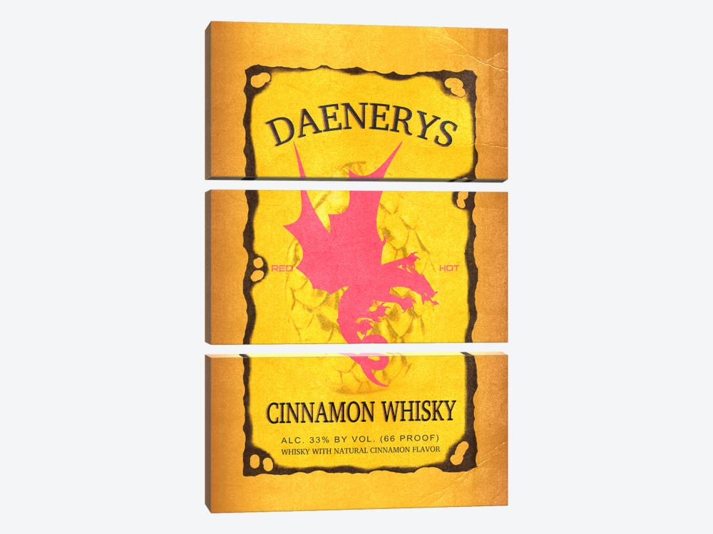 Daenerys Cinnamon Whisky by 5by5collective 3-piece Canvas Art