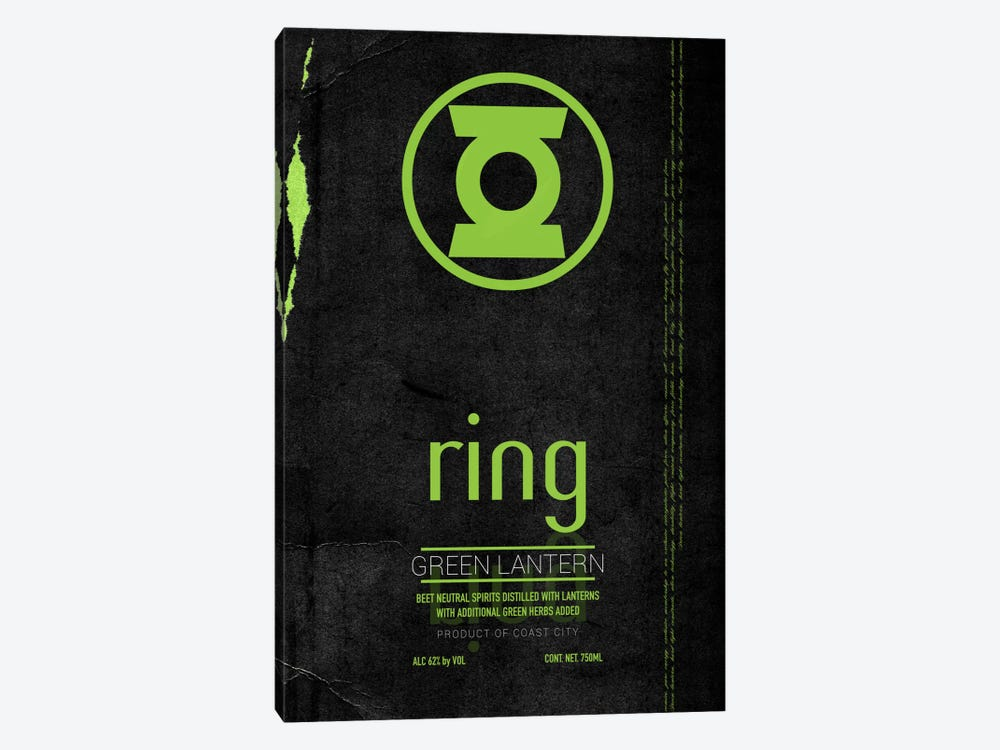 Ring by 5by5collective 1-piece Canvas Print