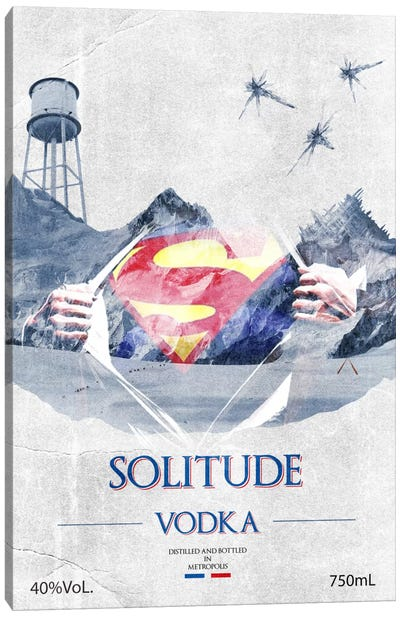 Solitude Vodka Canvas Art Print