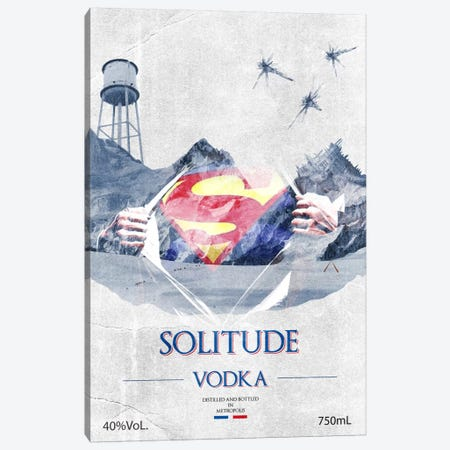 Solitude Vodka Canvas Print #DBL6} by 5by5collective Art Print