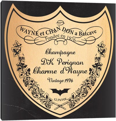 Wayne Et Chan Don A Batcave Canvas Art Print