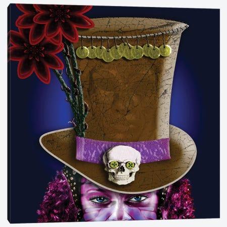 Voodoo Priestess Canvas Print #DBM104} by Dana Brett Munach Canvas Wall Art
