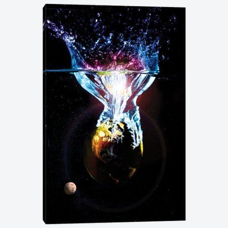 Changing Planet Canvas Print #DBM14} by Dana Brett Munach Canvas Print